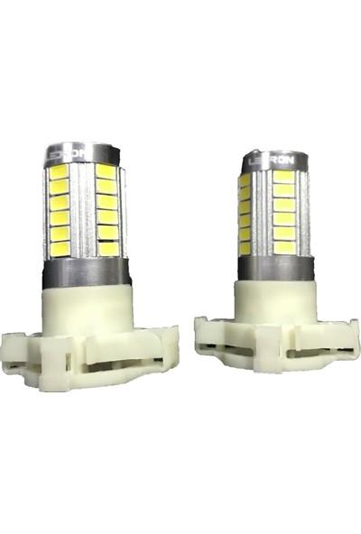 Koto PY24W Ledron LED Sinyal Gündüz Farı 33 Ledli Beyaz