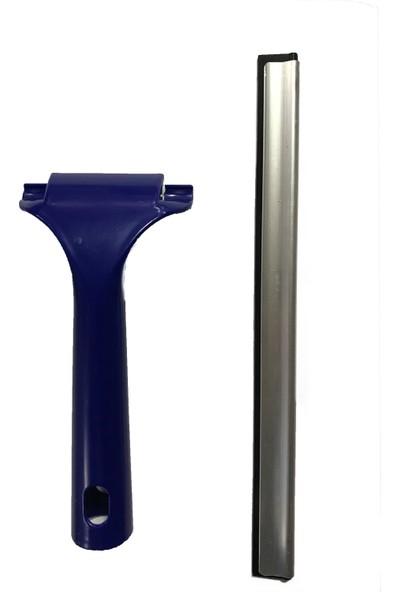 Koto Silikon Uçlu Cam Sil Çekçek Buz Kazıyıcı Çek Çek Metal Uç Silecek