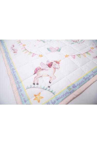 Miujoy Renkli Sağlıklı Şık Oyun Halısı - Unicorn