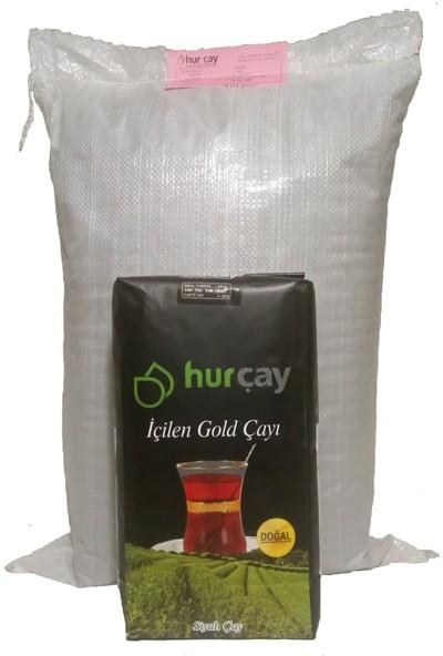 Hürçay Altın 5 kg Çuval Gerçek Rize Çayı