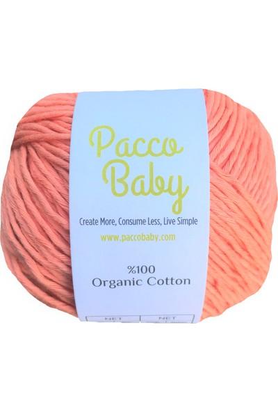 Pacco Baby Yavruağzı Sertifikalı Pamuk El Örgü İpi1