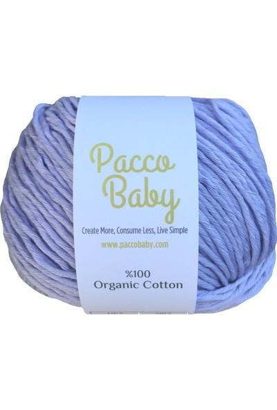 Pacco Baby Lila Sertifikalı Pamuk El Örgü İpi