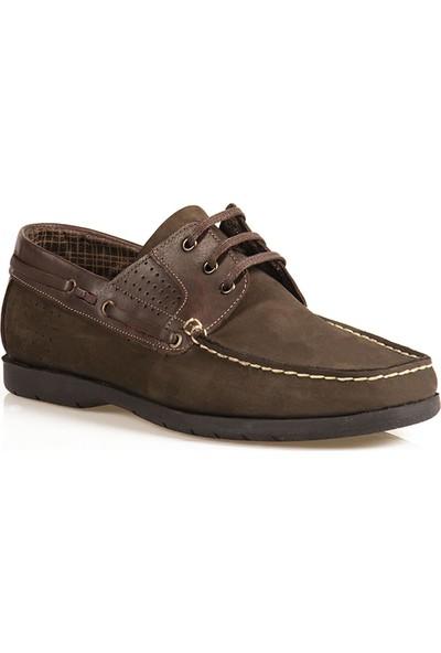 Ayakkabı Çarşı Günlük Bağcıklı Kahverengi Erkek Ayakkabı BALA145