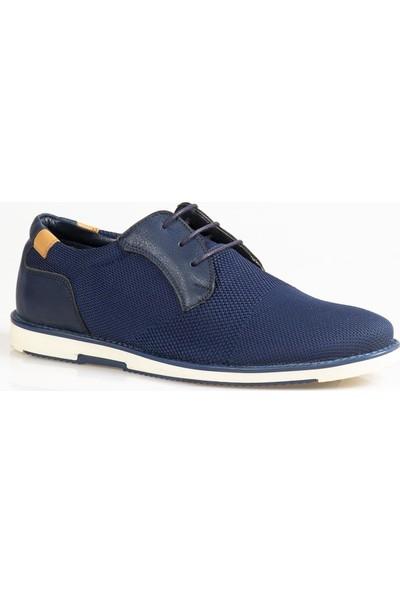 Ayakkabı Çarşı Günlük Bağcıklı Lacivert Ayakkabı CNR125