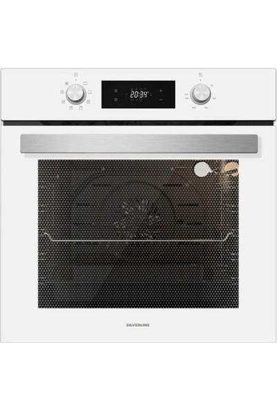 Sılverlıne BO6504W01 Multi Fonksiyonel Beyaz Ankastre Fırın