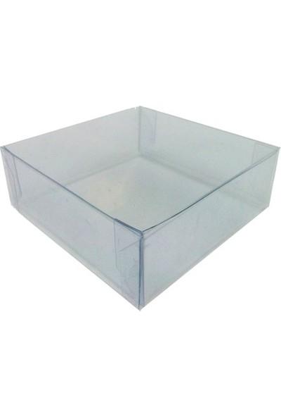 Janef Hediyelik Asetat Kutu 10x10x3 cm 25 Adet