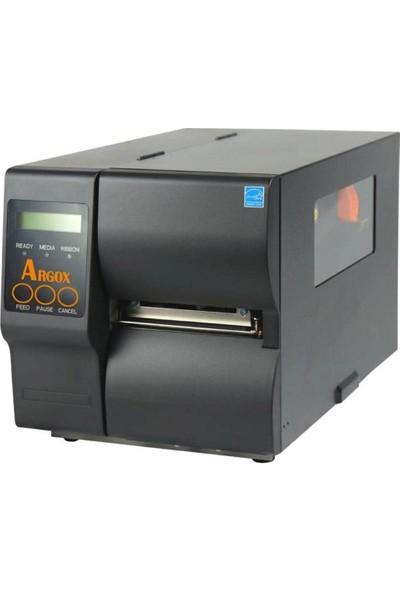 Argox İX4-250 Thermal + Thermal Transfer Seri + USB + Ethernet 203 Mm/sn 203 DPI Barkod Yazıcı