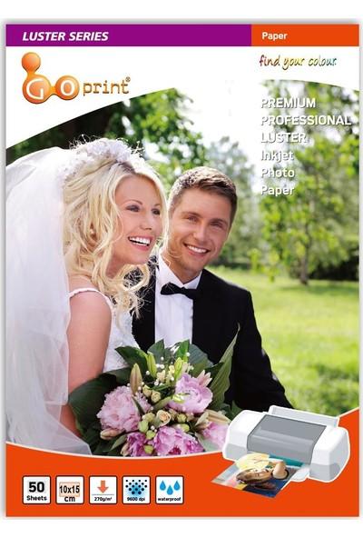 Goprint Luster Serisi Premium Ultra Mat 4r 10 x 15 cm Fotoğraf Kağıdı 270 gr 100 Yaprak