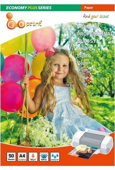 Goprint Economy Plus Serisi Ultra Parlak A4 21 x 297 cm Fotoğraf Kağıdı 280 gr 50 Yaprak