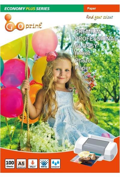 Goprint Economy Plus Serisi Ultra Parlak A5 15 x 21cm Fotoğraf Kağıdı 280 gr 100 Yaprak