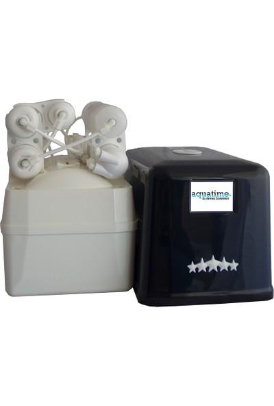 Aquatime Su Arıtma Cihazı Lg Membranlı Slim Kasa 5 Aşamalı Pompasız