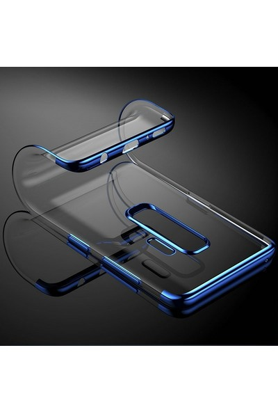 Gpack Samsung Galaxy J7 Duo Kılıf Colored Silicone + Nano Ekran Koruyucu + Kalem Koruma Siyah