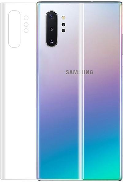 Gpack Samsung Galaxy Note 10 Plus Full Body Ön Arka Ekran Koruyucu Şeffaf