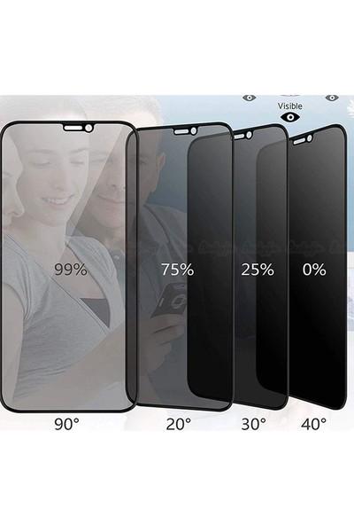 Gpack Samsung Galaxy Note 10 Plus Privacy Gizlilik Filtreli Hayalet Cam Siyah