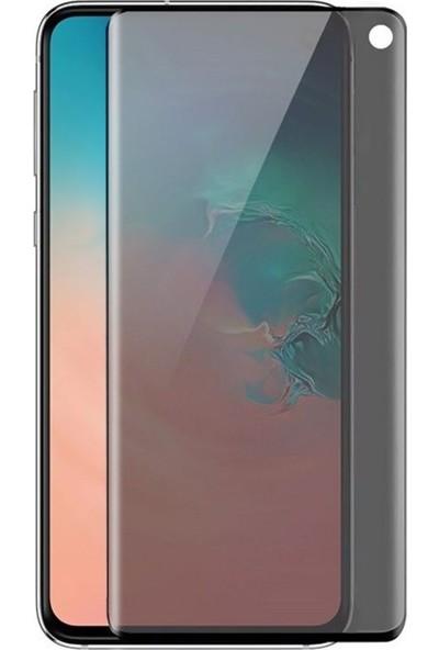 Gpack Samsung Galaxy S10 Privacy Gizlilik Filtreli Hayalet Cam Siyah