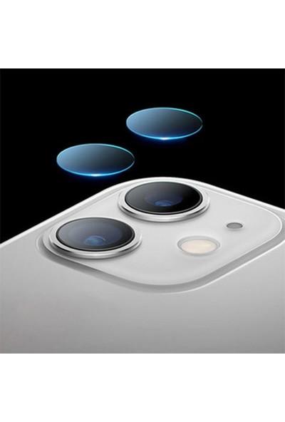 Gpack Apple iPhone 11 Kamera Lens Koruyucu Cam Şeffaf
