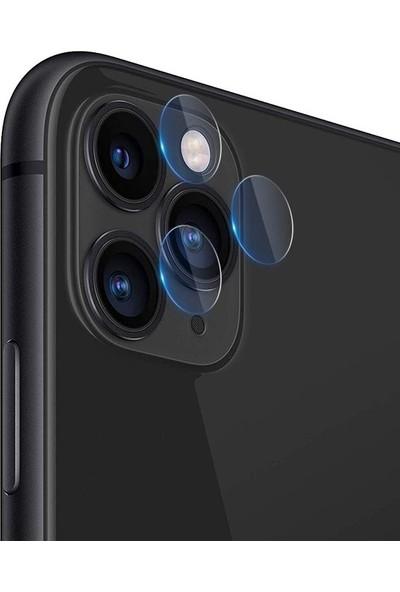 Gpack Apple iPhone 11 Pro Kamera Lens Koruyucu Cam Şeffaf