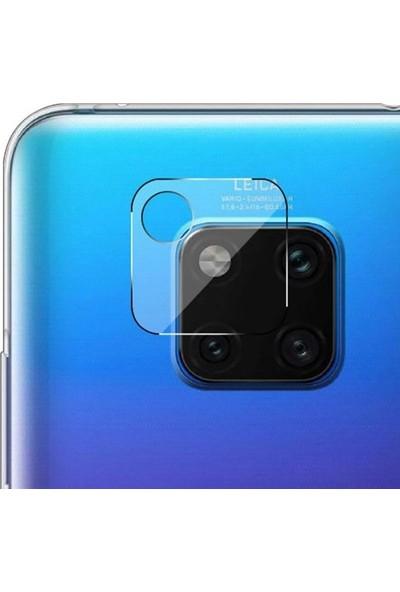 Gpack Huawei Mate 20 Pro Kamera Lens Koruyucu Cam Şeffaf