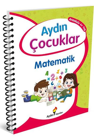 Aydın Yayınları 4 Yaş Etkinlik Kitabım 1 Temel Matematik Becerilerim