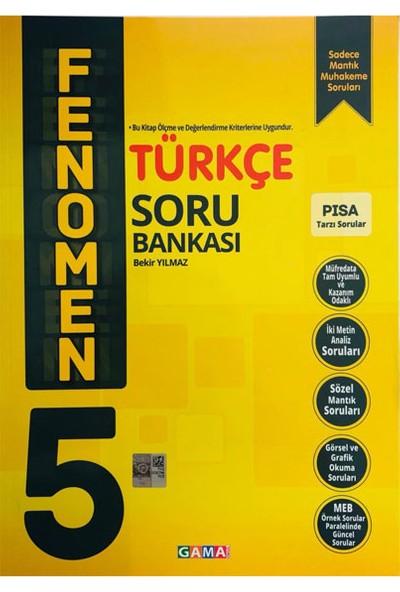 Gama Yayınları 5.Sınıf Türkçe Fenomen Soru Bankası