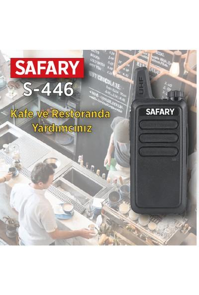 Safary S-446 Pmr El Telsizi