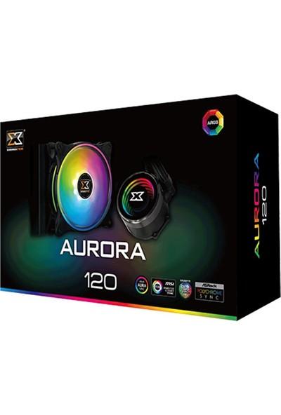 Xigmatek Aurora 120 EN42791 Intel/AMD Tümü 120mm At 120 Rainbow Fan CPU Sıvı Soğutucu