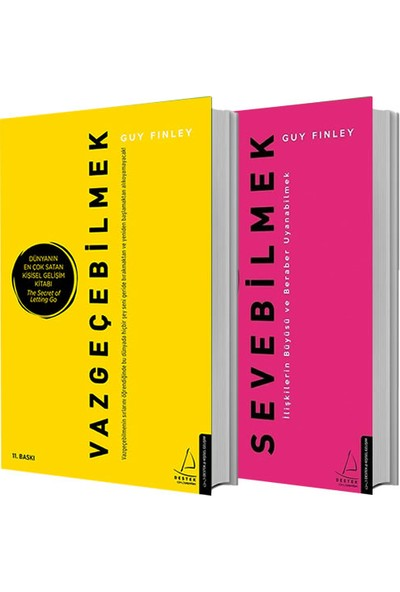 Vazgeçebilmek + Sevebilmek 2 Kitap Set - Guy Finley