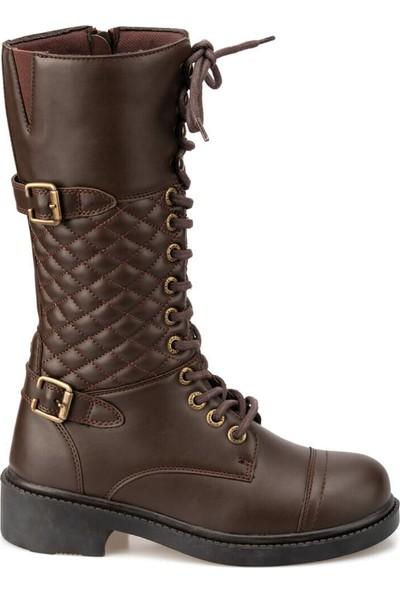 Kinetix Janna 9Pr Kahverengi Kadın Çizme