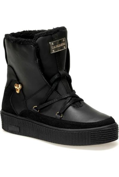 U.S. Polo Assn. Dıo 9Pr Siyah Kadın Sneaker Ayakkabı