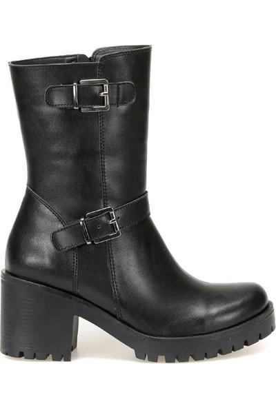 Butigo 19K-161 Siyah Kadın Topuklu Ayakkabı
