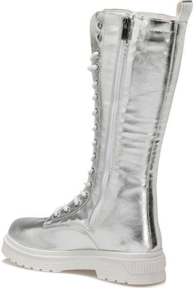 Butigo Mınts Gümüş Kadın Çizme