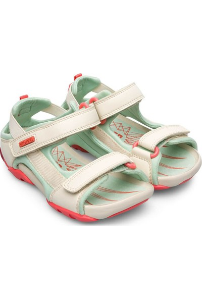 Camper Ous Çocuk Sandalet Yeşil Erkek Çocuk Sandalet