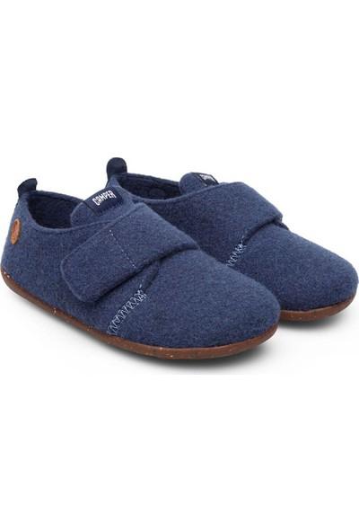 Camper Wapı Çocuk Ev Ayakkabısı Koyu Mavi Kız Erkek Çocuk Panduf