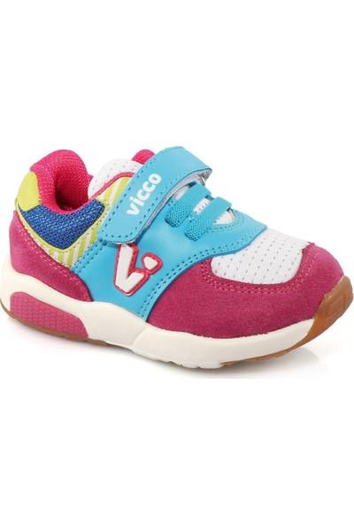 Vicco 313.G19K.201 Genç Spor Pembe Kız Çocuk Sneaker Ayakkabı