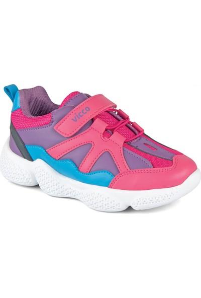Vicco 346.P19K.133 Patik Phylon Fuşya Kız Çocuk Sneaker Ayakkabı