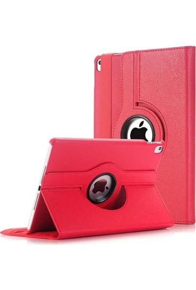 Case Street Apple iPad 9.7 2018 Kılıf Dönerli Standlı Koruma Kırmızı