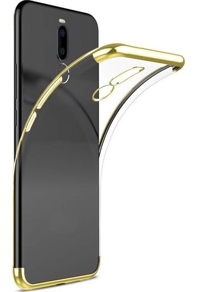 Case Street Meizu Note 8 Kılıf Colored Silicone Yumuşak Gold