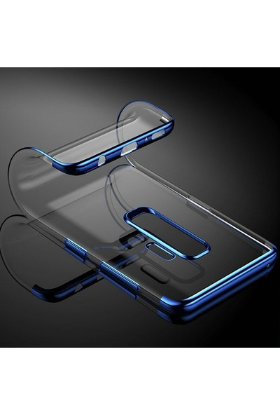 Case Street Meizu Note 8 Kılıf Colored Silicone Yumuşak + Nano Ekran Koruyucu Lacivert