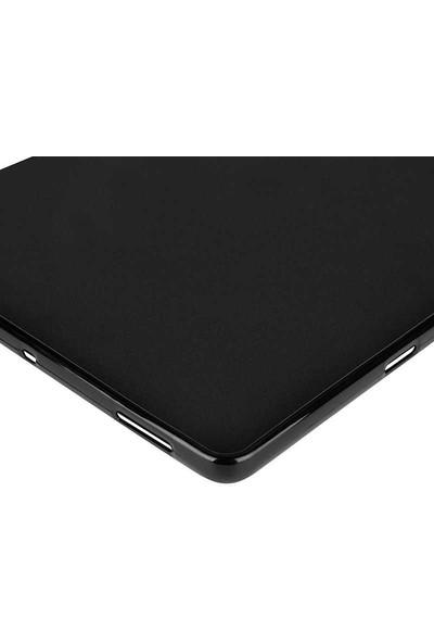 Case Street Samsung Galaxy Tab S6 T860 Kılıf Silikon İnce Kılıf Seffaf Şeffaf