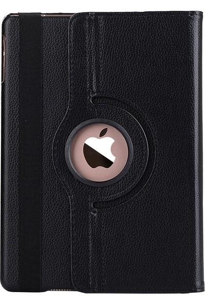 "EssLeena Kılıf Seti Apple iPad 7.Nesil (2019) 10.2"" (A2197/A2200/A2198) 360 Derece Dönebilen Powers Kılıf + 9H Cam + Sport Bluetooth Kulaklık + Kalem + Şarj Kablosu - Siyah"