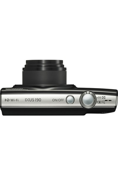 Canon Ixus 190 Kompakt Fotoğraf Makinesi Siyah