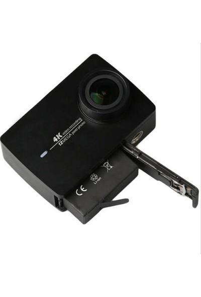 Gplus AZ16 Xiaomi Yi 2 4K 4k+ Aksiyon Kamera Uyumlu Pil 3.85V 1480 Mah 5.7 Wh Yedek Batarya AZ16-1