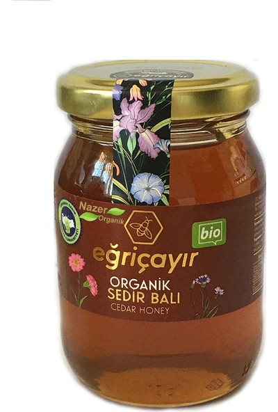 Eğriçayır Organik Sedir Balı 225 gr