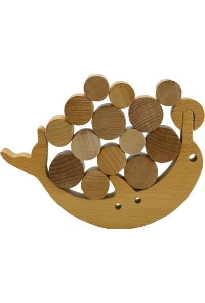 Moccotoys Ahşap Montessori Yunus Denge Oyunu