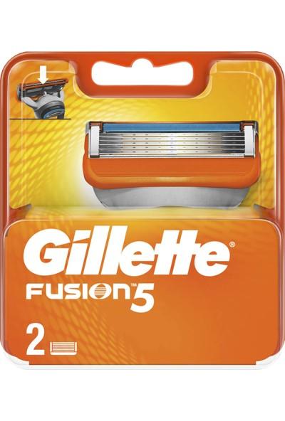 Gillette Fusion Yedek Tıraş Bıçağı 2'li