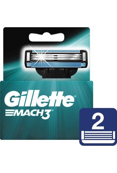 Gillette Mach2 Yedek Tıraş Bıçağı 2'li