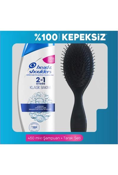 Head & Shoulders 2'Si 1 Arada Şampuan Klasik Bakım 450 Ml Tarak Hediyeli