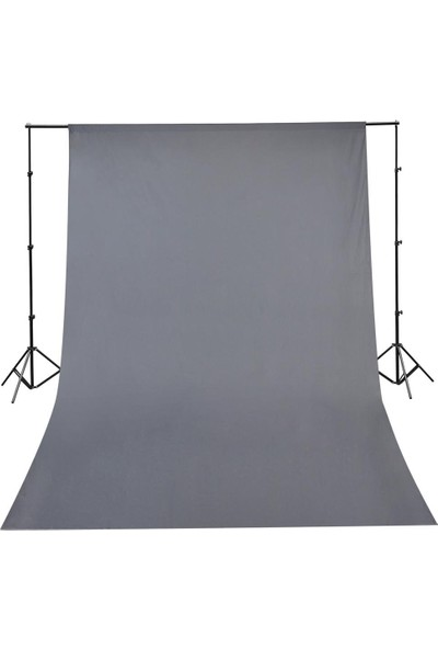 Süper Fon Sonsuz Gri Fon 275 x 1100 cm