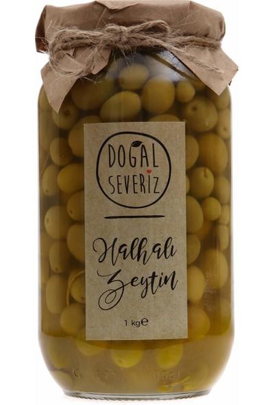 Doğal Severiz Halhalı Minik Yeşil Zeytin 1 kg