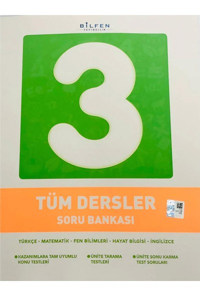Bilfen Yayınları 3.Sınıf Tüm Dersler Soru Bankası